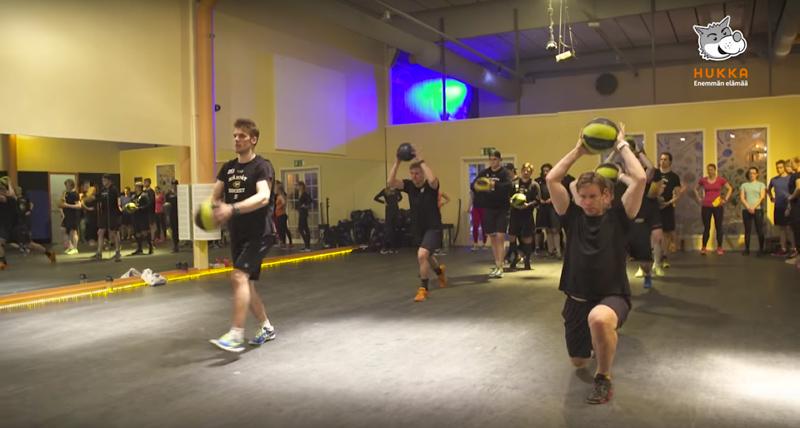 Elämää Hukassa: treenit Kärppien kanssa!