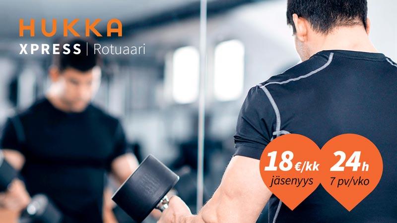 Hukka Xpress Rotuaari avataan alkuvuodesta 2018