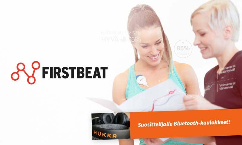 Firstbeat Hyvinvointianalyysin voittaja!