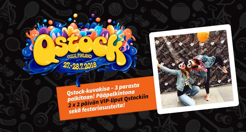 Qstock-kuvakisa – Voita kahden päivän VIP-passit Qstockiin!