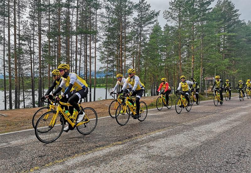 Team Rynkebyn Tour de Finland ajettiin 10.–12.7.