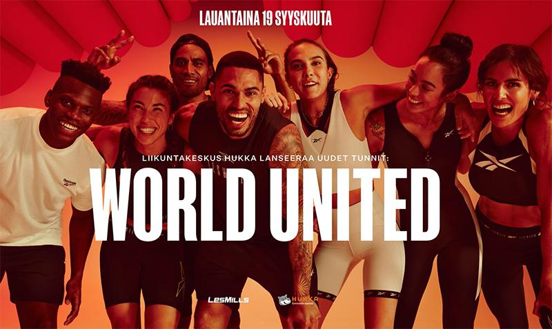Les Mills World United-päivä