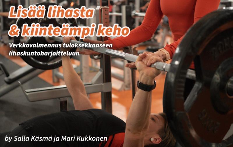 Lisää lihasta & kiinteämpi keho -verkkovalmennus