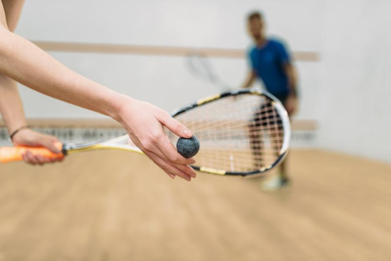 Squash-valmennukset miehille